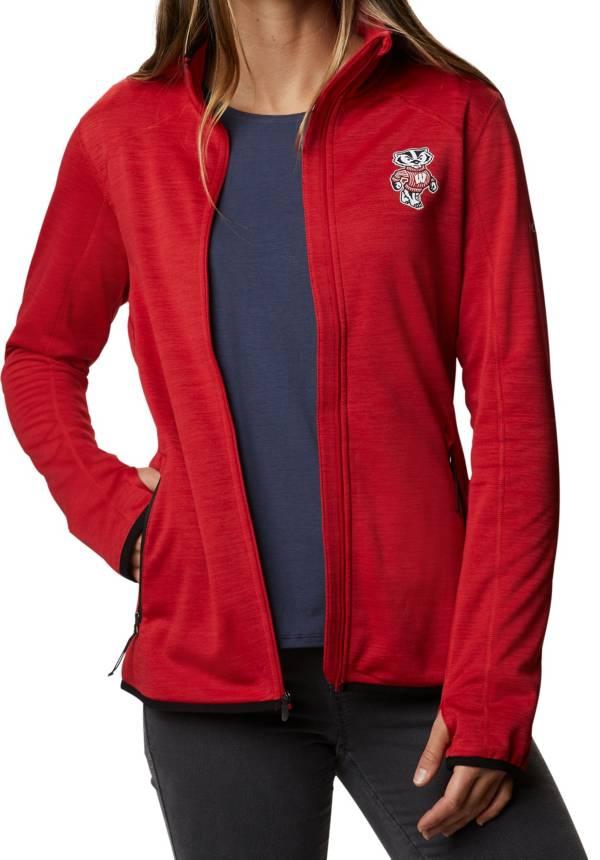Columbia Women's Wisconsin Badgers Red Darling Days Full-Zip Hoodie product image