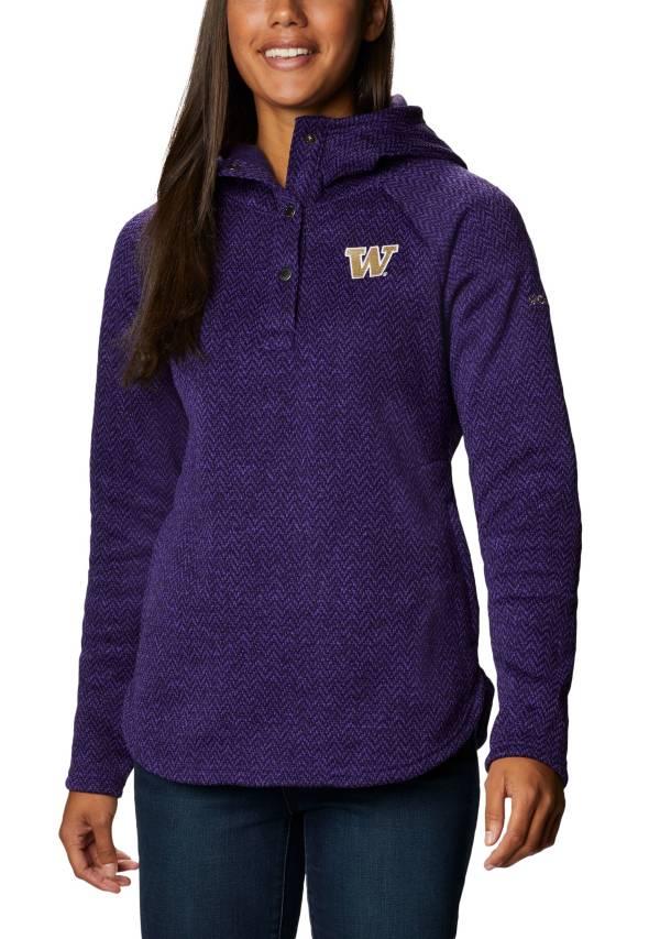 Columbia Women's Washington Huskies Purple Darling Days Full-Zip Hoodie product image