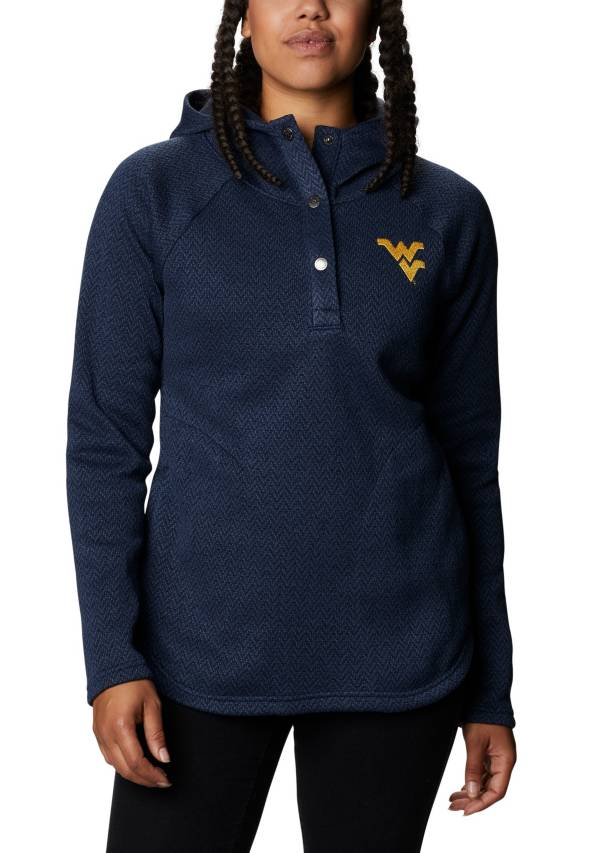 Columbia Women's West Virginia Mountaineers Blue Darling Days Full-Zip Hoodie product image