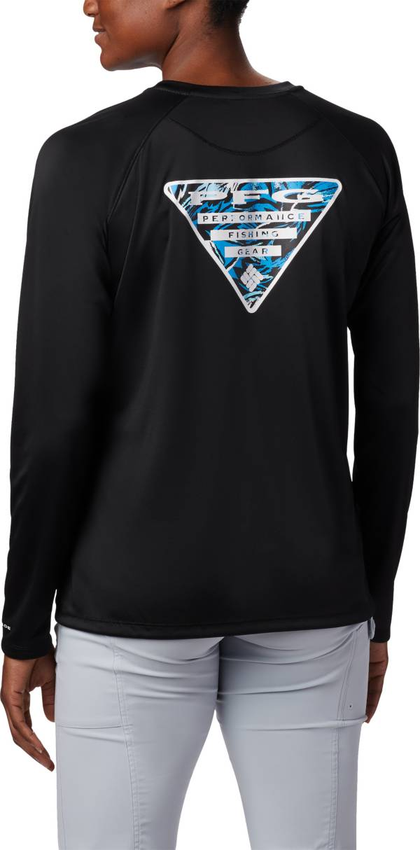 Columbia Tidal PFG Printed Triangle Long Sleeve T-Shirt product image