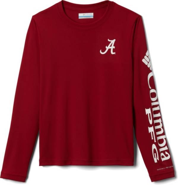 Columbia Youth Alabama Crimson Tide Crimson Terminal Tackle Long Sleeve T-Shirt product image