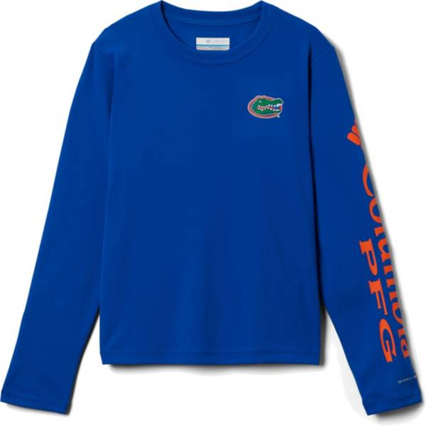 Columbia Youth Florida Gators Blue Terminal Tackle Long Sleeve T-Shirt product image