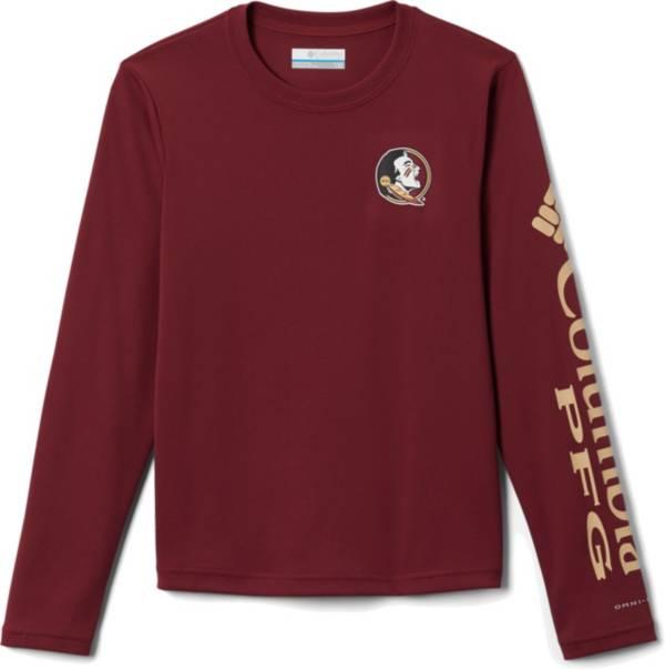 Columbia Youth Florida State Seminoles Garnet Terminal Tackle Long Sleeve T-Shirt product image