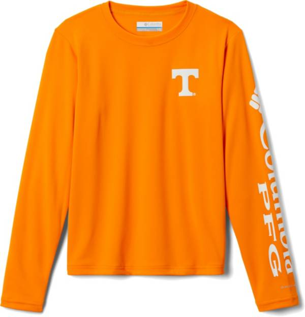 Columbia Youth Tennessee Volunteers Tennessee Orange Terminal Tackle Long Sleeve T-Shirt product image