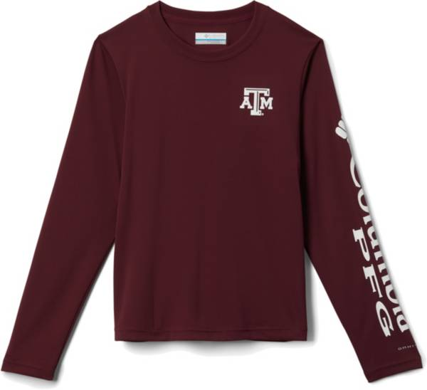 Columbia Youth Texas A&M Aggies Maroon Terminal Tackle Long Sleeve T-Shirt product image