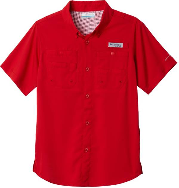 Columbia Youth Tamiami Button Down Short Sleeve Shirt product image