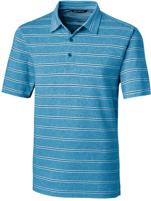 Cutter & Buck Men's Forge Heather Stripe Golf Polo product image