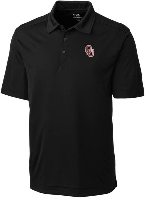 Cutter & Buck Men's Oklahoma Sooners Northgate Black Polo product image