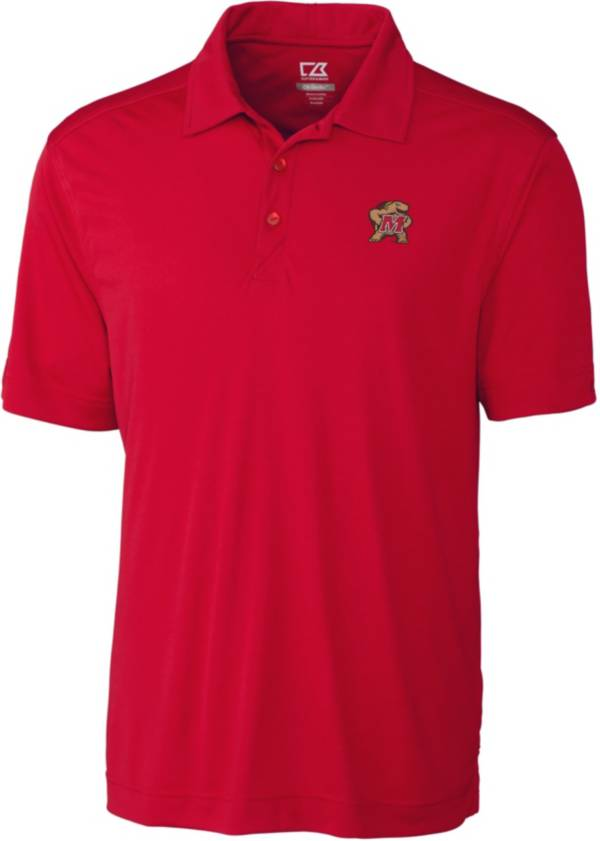 Cutter & Buck Men's Maryland Terrapins Red Northgate Polo product image