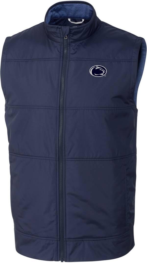 Cutter & Buck Men's Penn State Nittany Lions Blue Stealth Full-Zip Vest product image