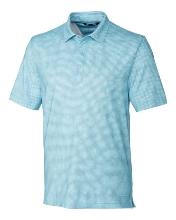 Cutter & Buck Men's Pike Geo Grid Golf Polo product image