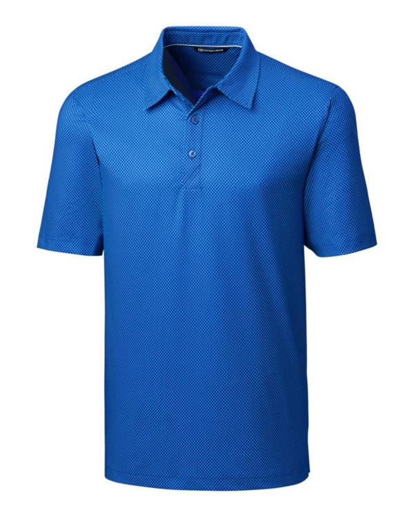 Cutter & Buck Men's Pike Mini Print Golf Polo – Big & Tall product image