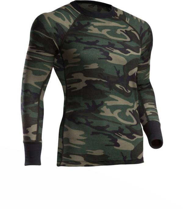 ColdPruf Men's Woodland Camo Thermal Top product image