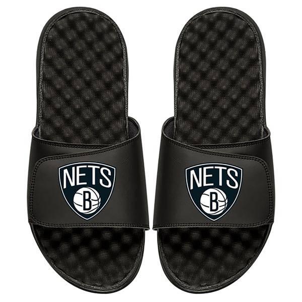 Islide Youth Custom Brooklyn Nets Sandals product image