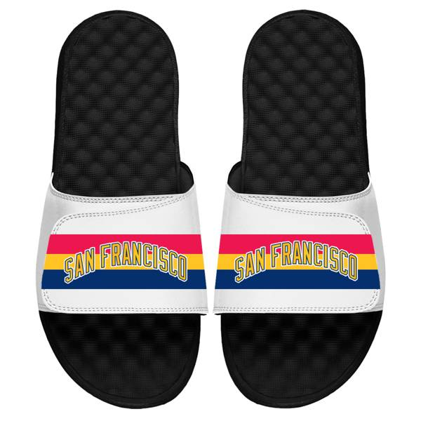 ISlide Golden State Warriors Hardwood Classic Sandals product image