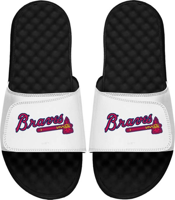 ISlide Atlanta Braves Logo Youth Sandals product image