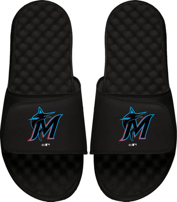 ISlide Miami Marlins Youth Alternate Logo Sandals product image