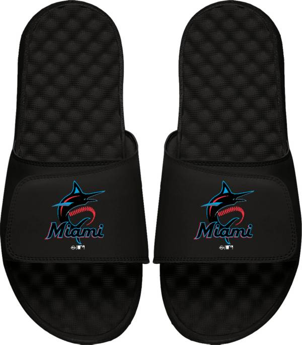 ISlide Miami Marlins Youth Sandals product image