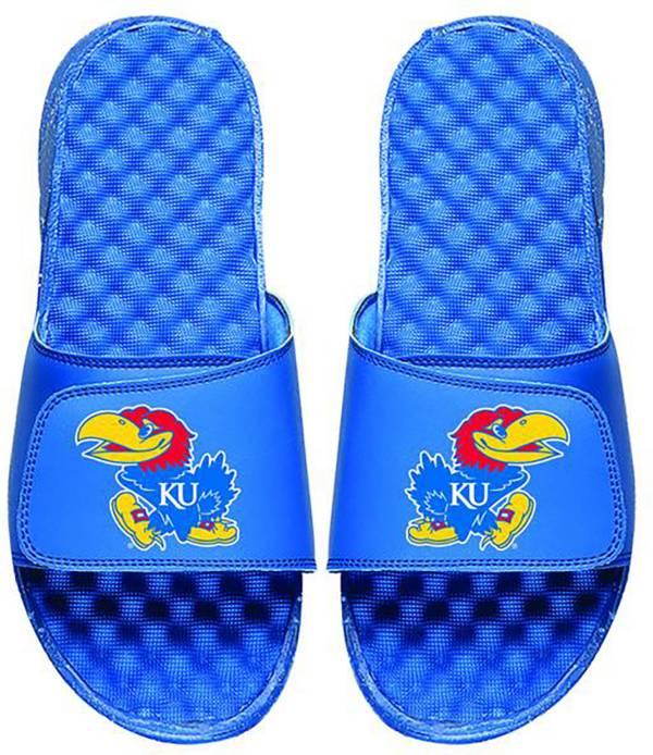 ISlide Kansas Jayhawks Youth Sandals product image
