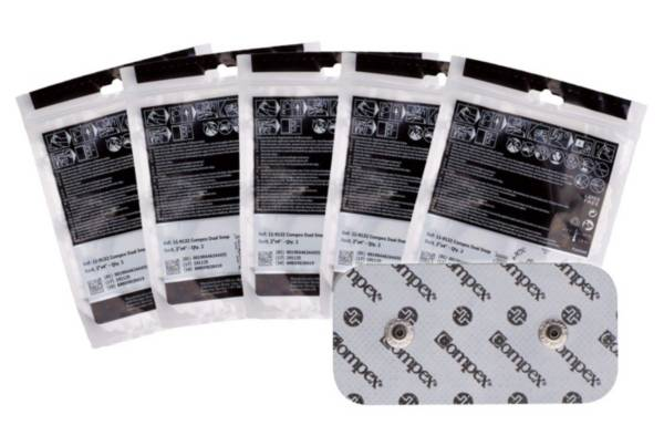 "Compex Performance Electrodes 2"" x 4"" Dual Snap Pads 5 Pack product image"