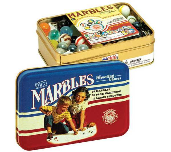 Channel Craft Marbles Classic Toy Tin product image