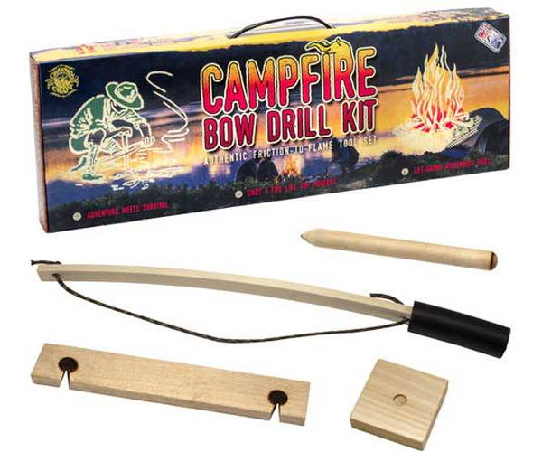 Channel Craft Campfire Bow Drill Kit product image