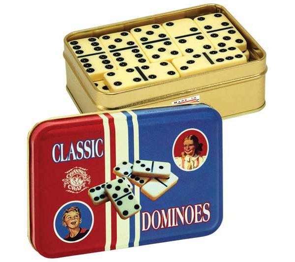 Channel Craft Dominoes Classic Toy Tin product image