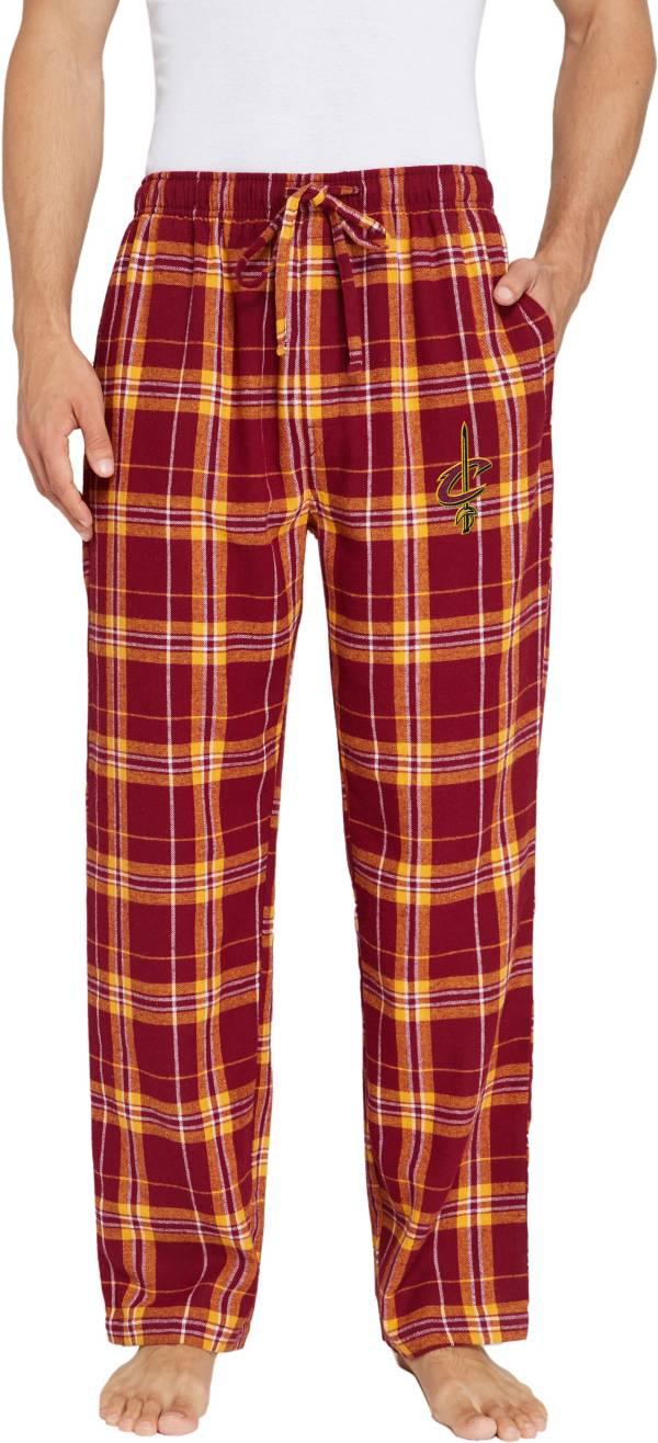 Concepts Sport Men's Cleveland Cavaliers Plaid Flannel Pajama Pants product image