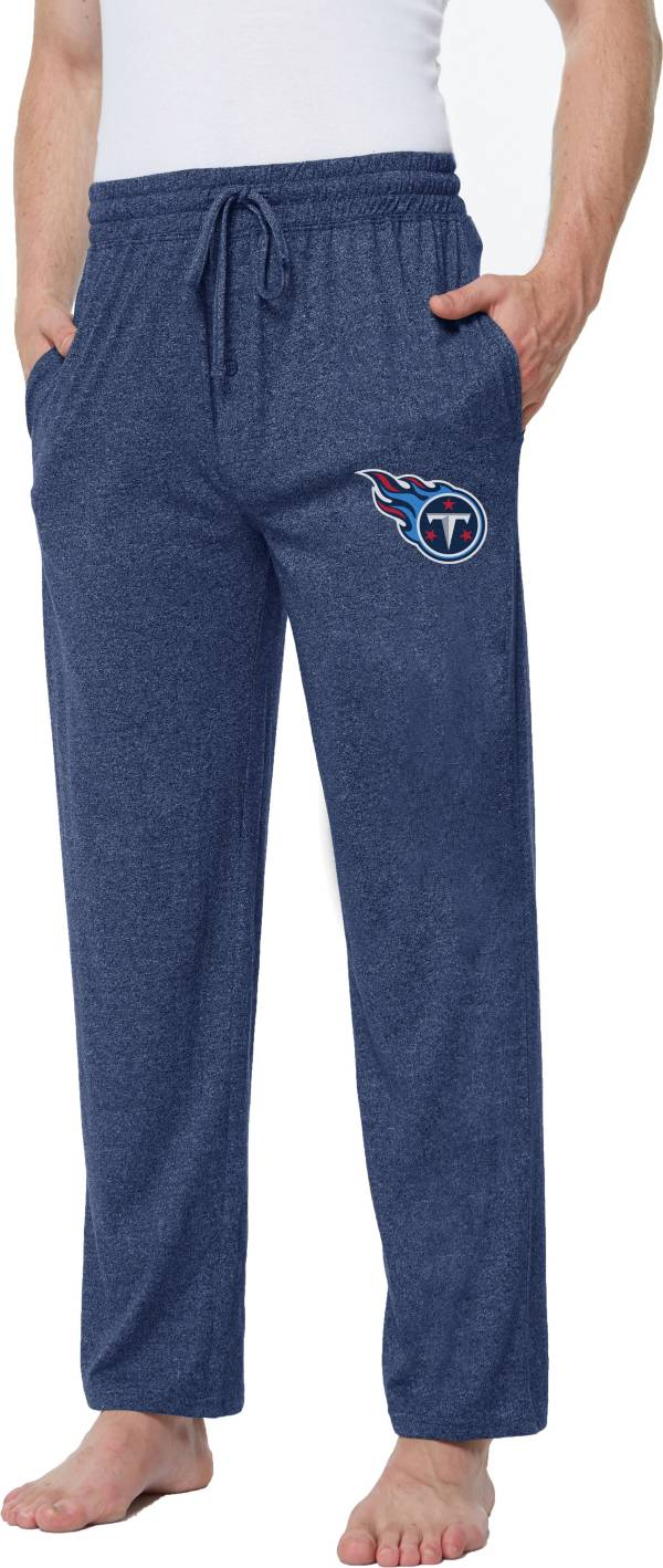 Concepts Sport Men's Tennesee Titans Quest Navy Jersey Pants product image
