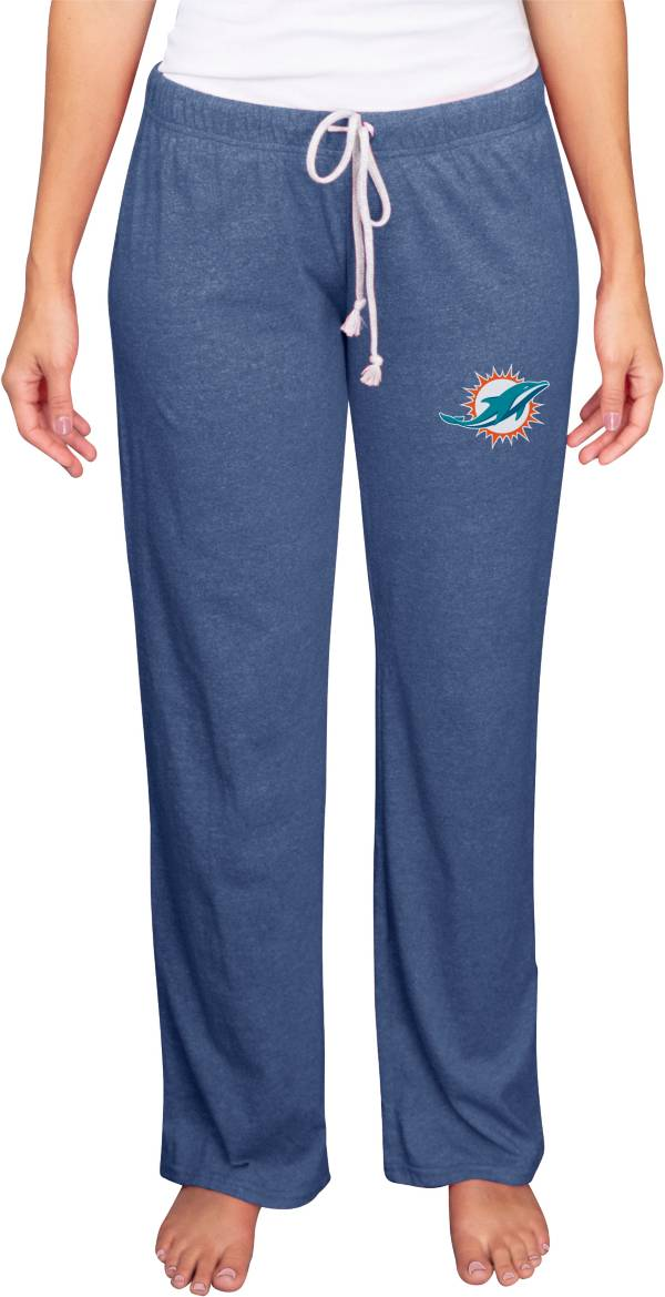 Concepts Sport Women's Miami Dolphins Quest Navy Pants product image