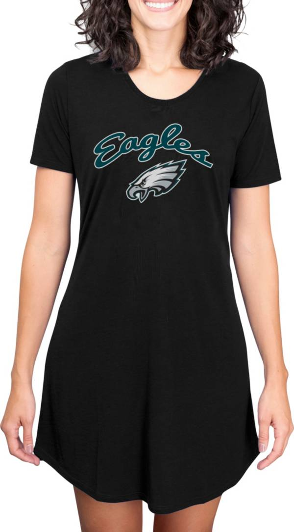 Concepts Sport Women's Philadelphia Eagles Black Nightshirt product image