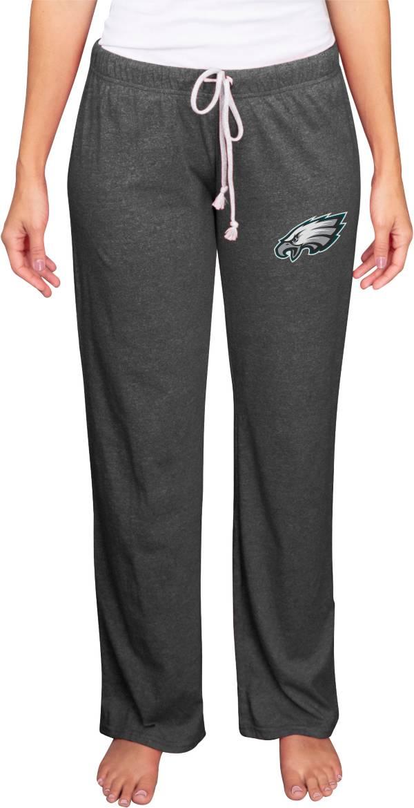 Concepts Sport Women's Philadelphia Eagles Quest Grey Pants product image