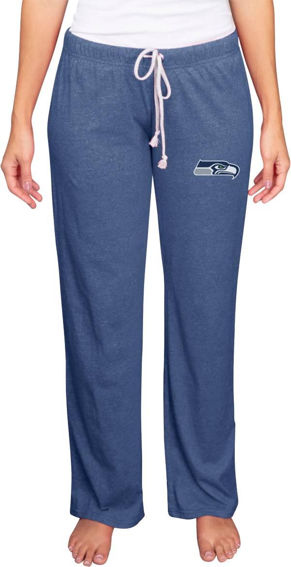 Concepts Sport Women's Seattle Seahawks Quest Navy Pants product image