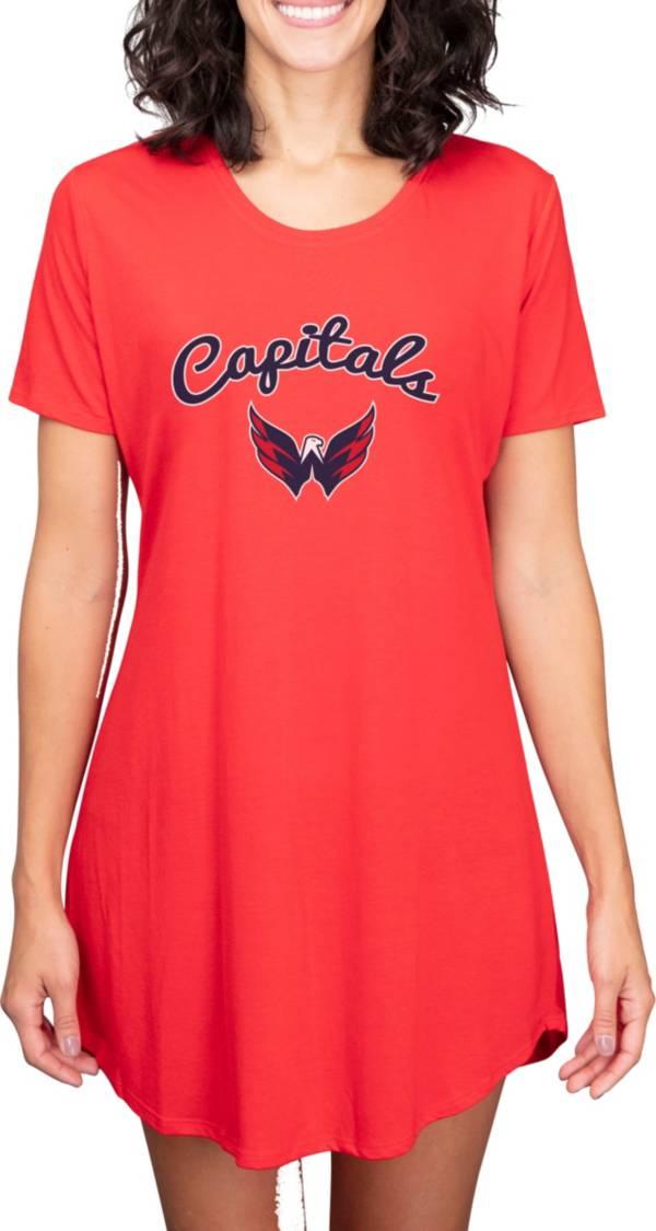 Concepts Sport Women's Washington Capitals Marathon  Nightshirt product image