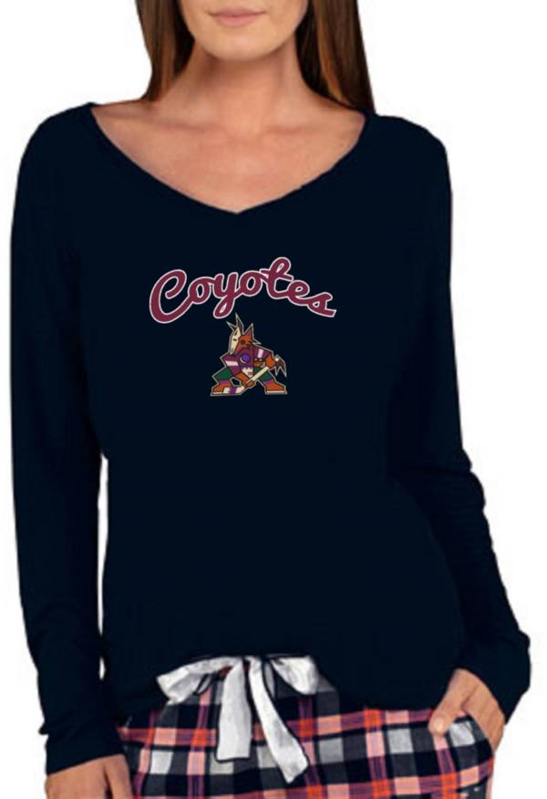 Concepts Sport Women's Arizona Coyotes Marathon  Knit Long Sleeve T-Shirt product image