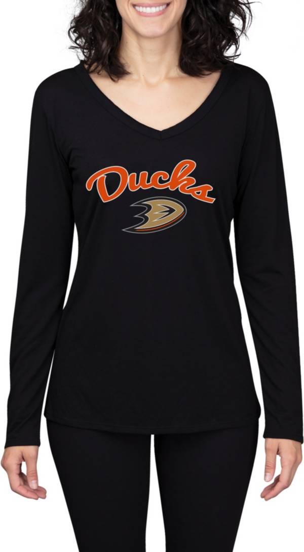 Concepts Sport Women's Anaheim Ducks Marathon  Knit Long Sleeve T-Shirt product image