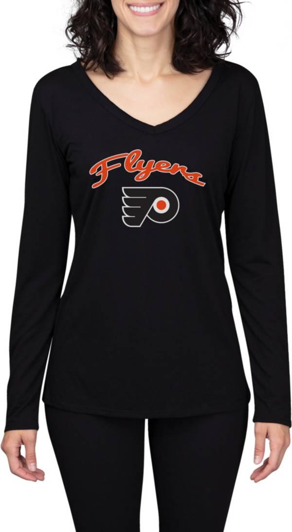 Concepts Sport Women's Philadelphia Flyers Marathon  Knit Long Sleeve T-Shirt product image