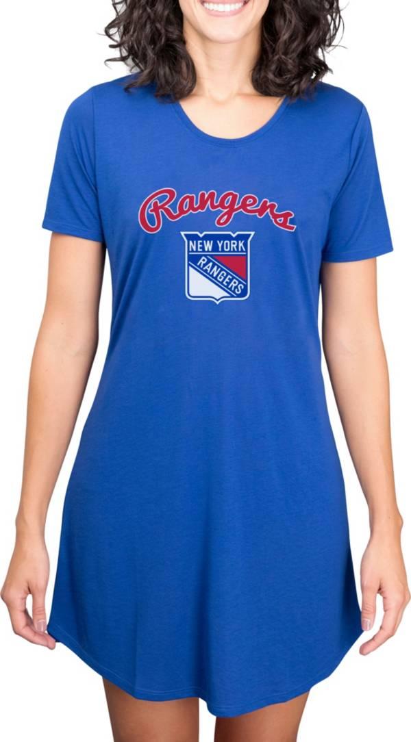 Concepts Sport Women's New York Rangers Marathon  Nightshirt product image