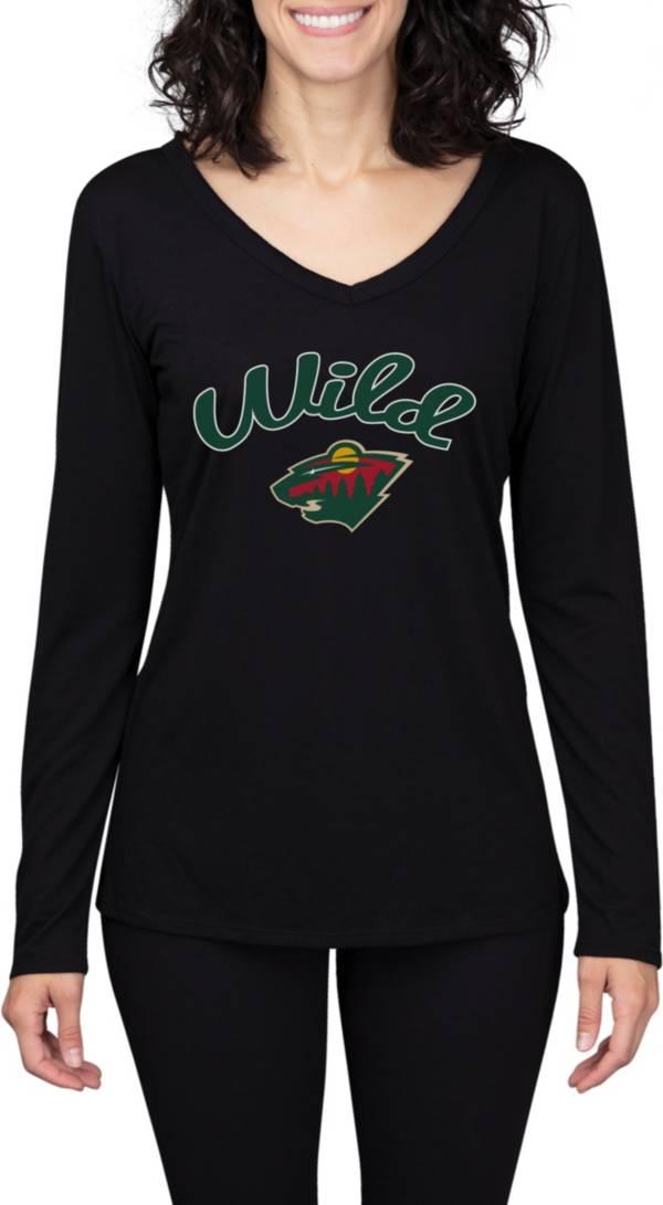 Concepts Sport Women's Minnesota Wild Marathon  Knit Long Sleeve T-Shirt product image