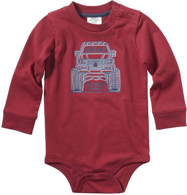 Carhartt Infant Boys' Long Sleeve Monster Truck Bodyshirt product image