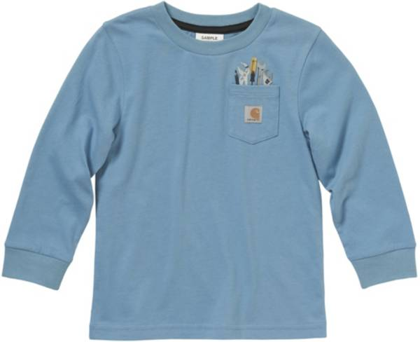 Carhartt Little Boys' Tool Pocket Long Sleeve T-Shirt product image