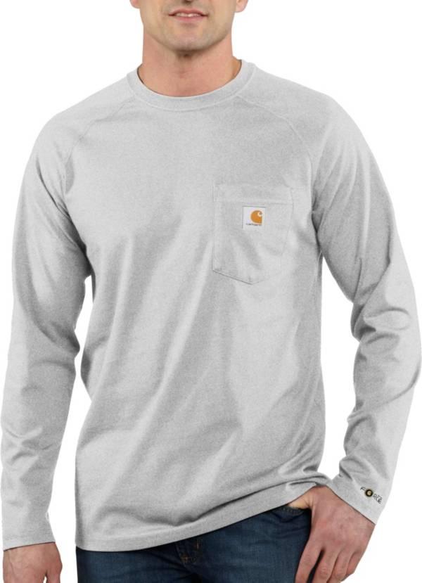 Carhartt Men's Force Cotton Delmont Long Sleeve T-Shirt product image
