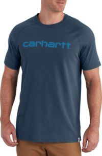 Carhartt Mens Force Delmont Moisture Wicking Short-Sleeve T-Shirt