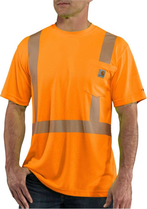 Carhartt Men's Force High-Visibility Short Sleeve Class 2 T-Shirt product image