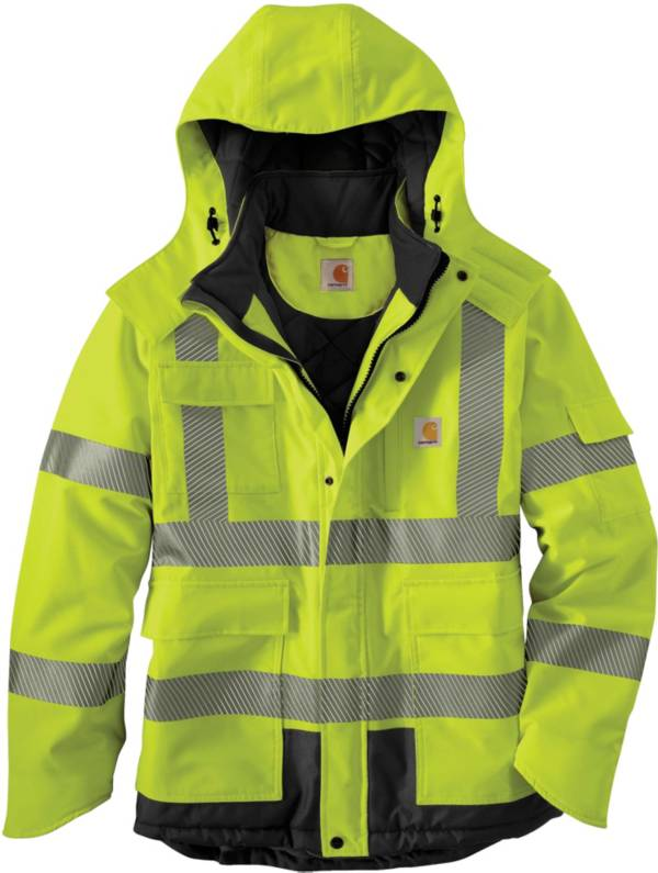 Carhartt Men's High Visibility Waterproof Class 3 Insulated Sherwood Jacket product image