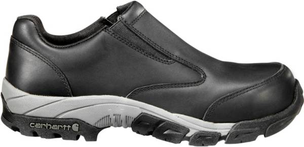 Carhartt Men's Lightweight Leather Slip-On Carbon Nano Toe Work Shoes product image