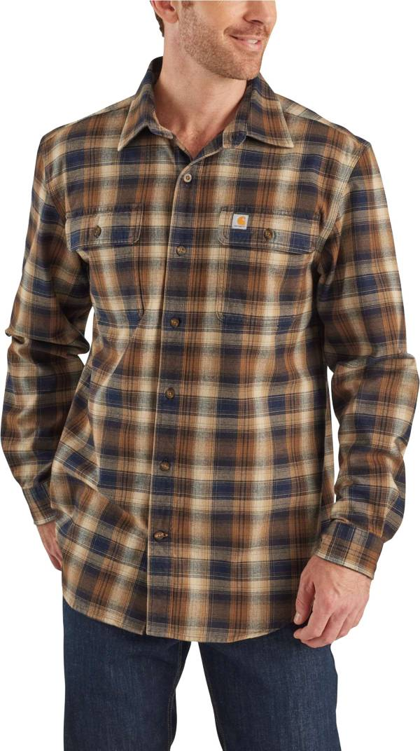Carhartt Men's Hubbard Plaid Flannel Shirt (Regular and Big & Tall) product image