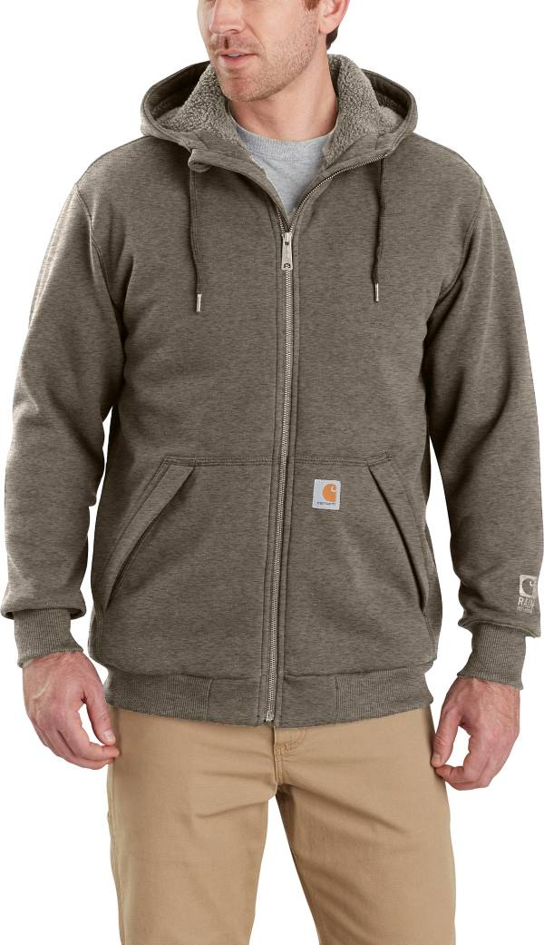 Carhartt Men's Rain Defender Rockland Sherpa-Lined Hooded Sweatshirt (Regular and Big & Tall) product image