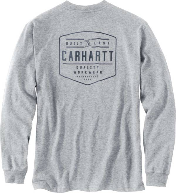 Carhartt Men's Workwear Built By Hand Graphic Long Sleeve Pocket T-Shirt product image