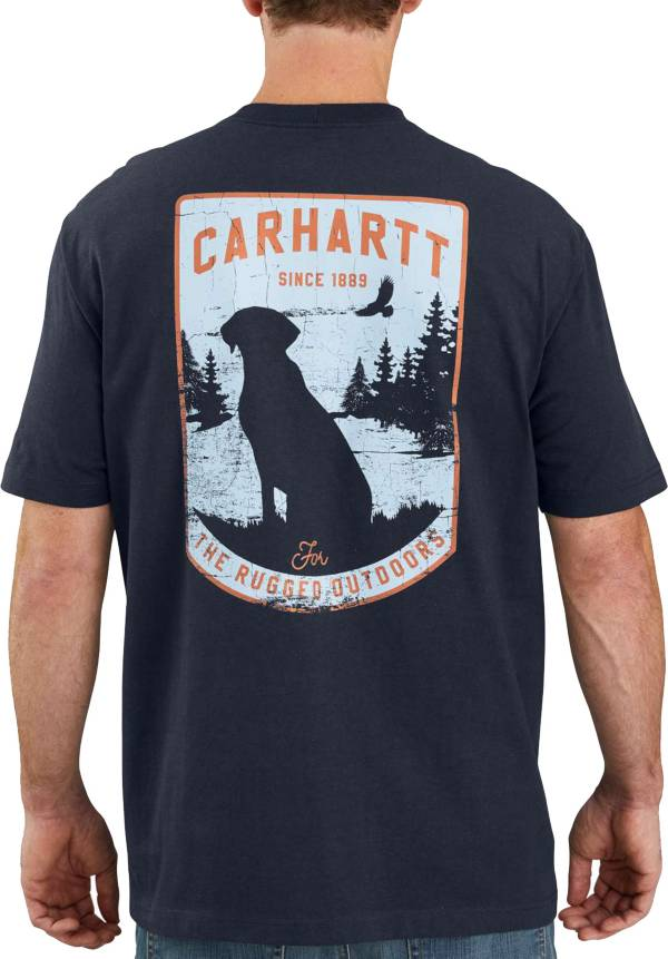 Carhartt Men's Short Sleeve Pocket Dog Graphic T-Shirt product image